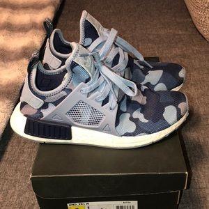 sale retailer 6fd3c 6b0bd Women's adidas D XR1 blue camouflage size 8